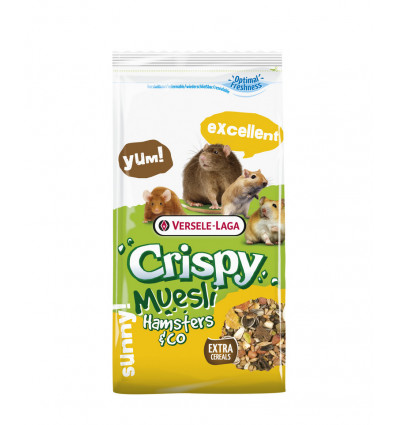Crispy Muesli Hamsters & Co 2,75KG