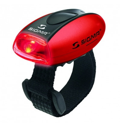 Sigma Micro LED lamp rood Meerdere standen