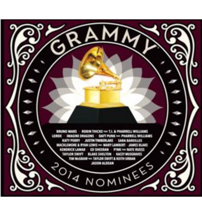 GRAMMY NOMINEES 2014 1CD