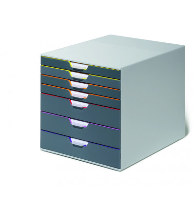 LADENBLOK MET 7 LADEN - VARICOLOR DURABLE - 5 KLEUREN
