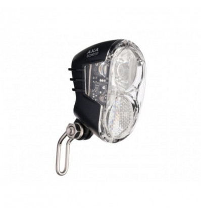 Axa LED koplamp Echo on/off 15 lux Voor naafdynamo en 6V E-bike batterij