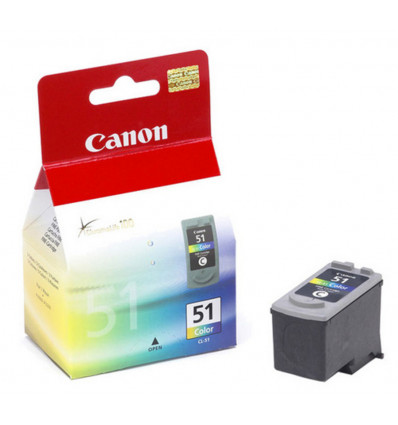 INKJET CARTRIDGE - COLOR CANON - CAN51 - CL51 - MP450 - 21ML