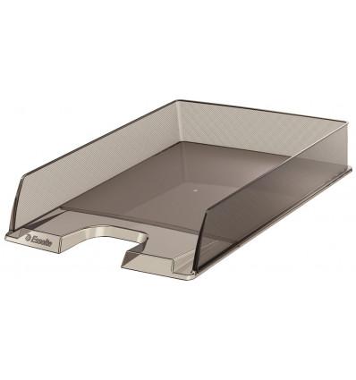 Esselte Brievenbak Europost Transparant Smoke - A4- 254x61x350 mm