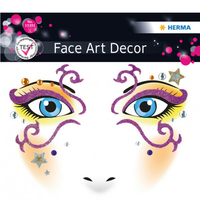 HERMA FACE ART STICKER DECO MYSTERIE
