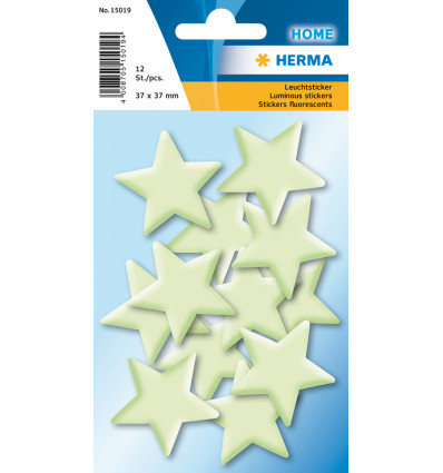 STICKER GLOW IN THE DARK - MINI STARS HERMA