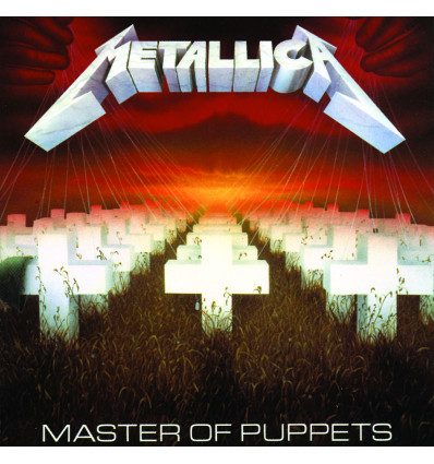 METALLICA 1LP MASTER OF PUPPETS
