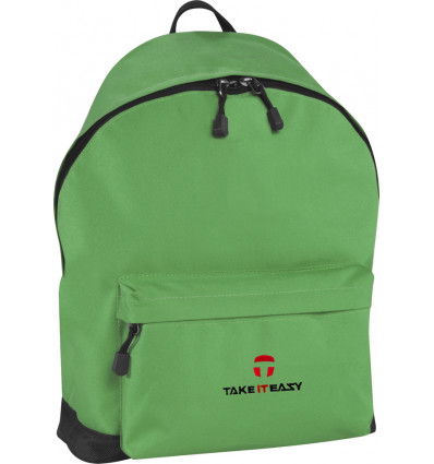 RUGZAK ALLROUNDER BASIC 32x41x15CM TAKE IT EASY - GROEN