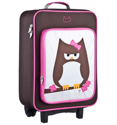 TROLLEY - 33x41x17cm BEATRIX N.Y. - PAPAR - OWL