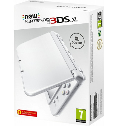 New Nintendo 3DS XL Console Pearl White