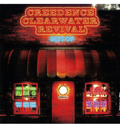 CREEDENCE CLEARWATER REVIVAL - CCR 1CD BEST OF