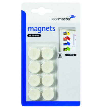 Legamaster Magneet 20mm - Wit