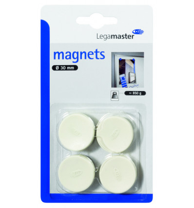 Legamaster Magneet 30mm - Wit