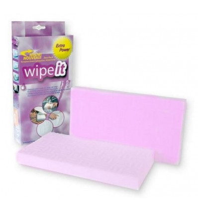 WIPE IT SPONS EXTRA POWER 2 STUKS - 200X110X20