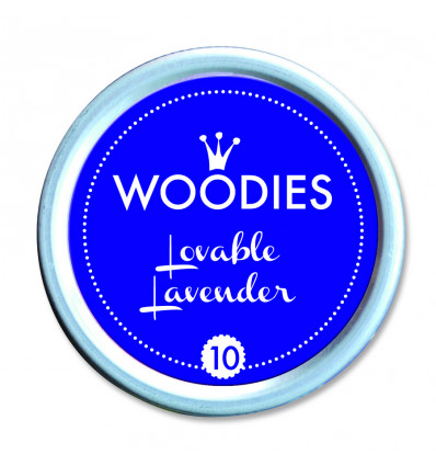 Woodies Inktpad - Lovable Lavender