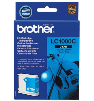 INKJET CARTRIDGE - CYAAN BROTHER - LC1000C - DCP130C