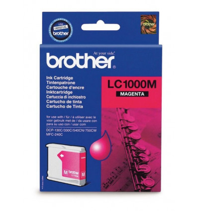 INKJET CARTRIDGE - MAGENTA BROTHER - LC1000M - DCP130C