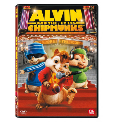 Alvin and The Chipmunks 1DVD