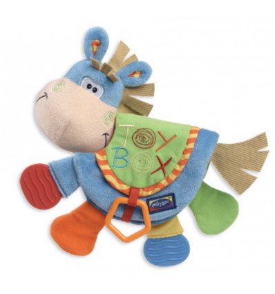 PLAYGRO TEETHER BOOK CLIP CLOP TOYBOX