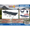 EASY-BED 2-SECONDS CAMPINGBED LUXE POLYESTER 600D - STALEN FRAME