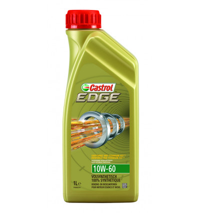 Castrol edge 10W60 1l, formula rs 100% volledig synthetische olie