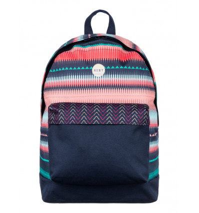 RUGZAK - BE YOUNG - 24L - 40x32x18cm ROXY - JAGGED STRIPE
