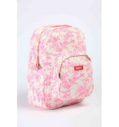 282329f484a RUGZAK MINI - JOUY ROSE FLUO BAKKER MADE WITH LOVE - 27x21x7cm ...