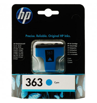INKJET CARTRIDGE PHOTOSMART - LIGHTCYAANHP363 - C8774EE - PS8250 - 5.5ML