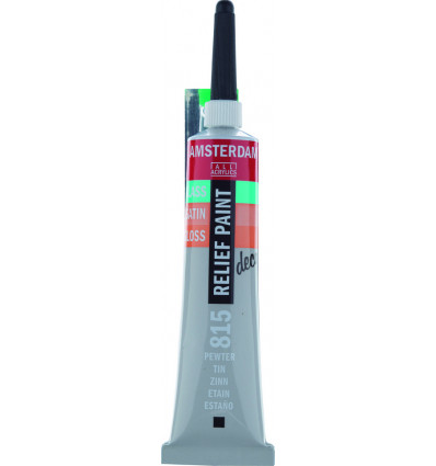 AMSTERDAM RELIEFVERF TIN - TUBE 20ml