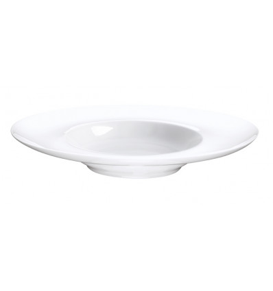 A TABLE SOEPBORD 25 cm - WHITE - BONE CHINA