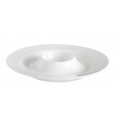 A TABLE EIERDOP WIT - 13 CM - BONE CHINA