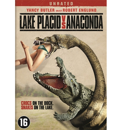 Lake Placid 5 vs Anaconda 1DVD