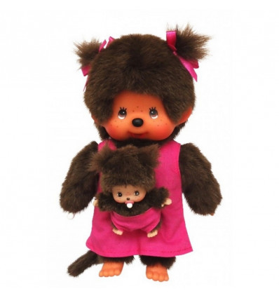 MONCHHICHI 20 CM MOTHER CARE PINK