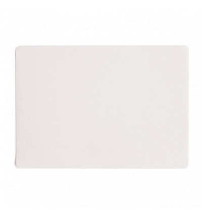 Placemat - Country - 33x46 cm Leather Optic - Wit