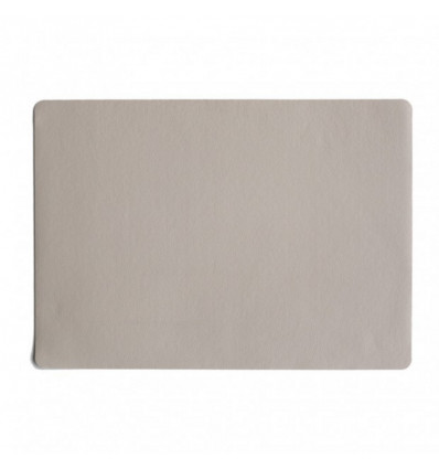 Placemat - Country - 33x46cm Leather Optic - Stone
