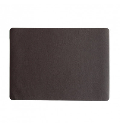 ASA Placemat Country 33x46 cm Leather Optic - Chocolate