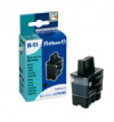 PELIKAN INKJET CARTRIDGE - BROTHER MFC.210C/410C/620C/820C - ZWART