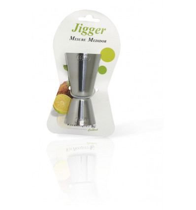 Vin Bouquet Maatbeker Inox 25/50ml