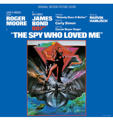 007: The Spy Who Loved Me - Soundtrack 1LP - Music by Marvin Hamlish