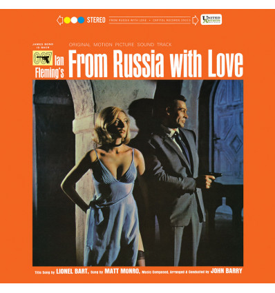 007: From Russia with Love - Soundtrack 1LP - Music by John Barry