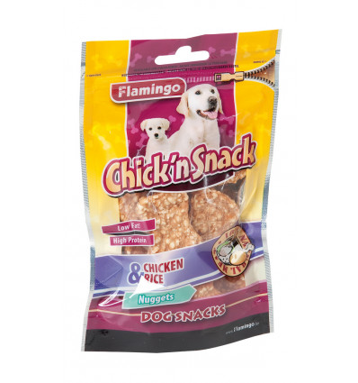CHICK'N SNACK - COOKED RICE BONE