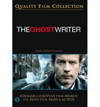 THE GHOST WRITER 1DVD