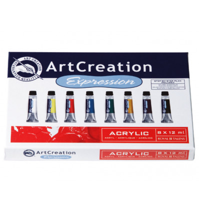 Talens Art Creation Acrylverf 8x12ml - Assorti