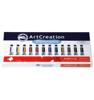 Talens Art Creation Acrylverf 12x12ml - Assorti