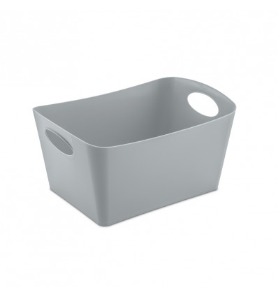 BEWAARMAND 3.5L - BOXXX M KOZIOL - 203x297x150mm - SOLID COOL GRAY