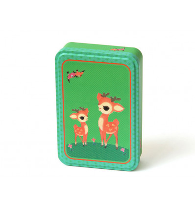 BOX - 19x12.5x4cm FROY & DIND - BAMBI WITH CHILD