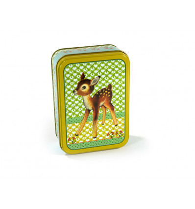 BOX - 14x10x5cm FROY & DIND - BAMBI VINTAGE GREEN