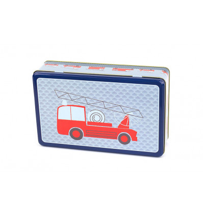 BOX - 27x18x7.5cm FROY & DIND - FIRE TRUCK