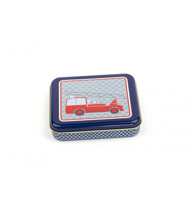 BOX - 8.5x10x2cm FROY & DIND - FIRE TRUCK