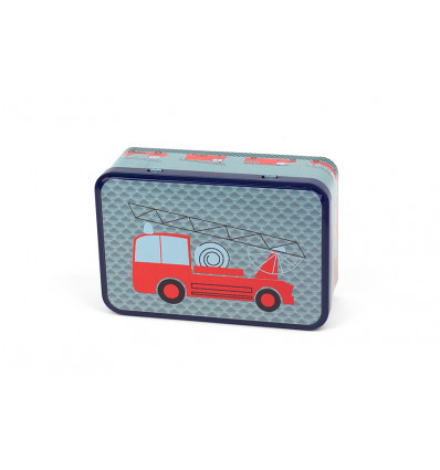 BOX - 19.7x13x6.9cm FROY & DIND - FIRE TRUCK