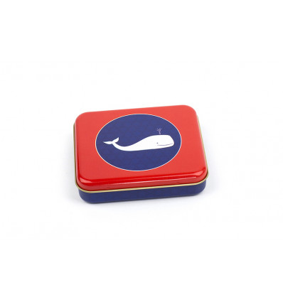 BOX - 8.5x10x2cm FROY & DIND - WHALES